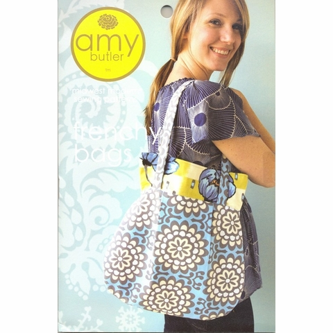 Amy Butler, Sewing Pattern, Frenchy Bags