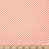 Amy Sinibaldi for Art Gallery, Les Petits, Petits Checks Coral Fat Quarter