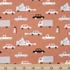Amy Van Luijk for FIGO, Moonlit Voyage, Cars Ochre Multi
