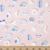 Amy Van Luijk for FIGO, Moonlit Voyage, Cats Cutouts Pink
