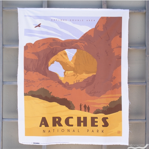 """Anderson Design Group for Riley Blake, National Parks, Arches Panel (36"""" Panel)"""