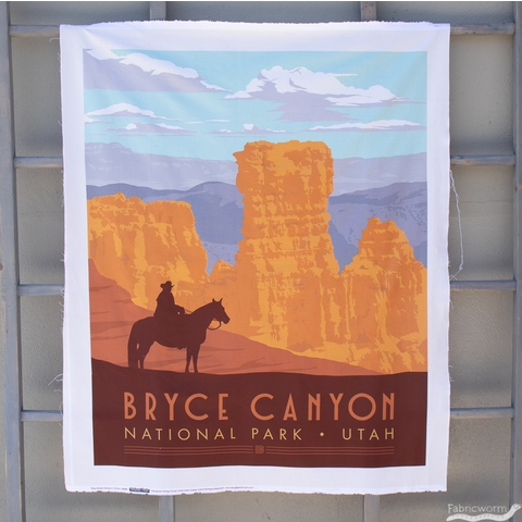 """Anderson Design Group for Riley Blake, National Parks, Bryce Canyon Panel (36"""" Panel)"""