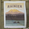 "Anderson Design Group for Riley Blake, National Parks, Mount Rainier Panel (36"" Panel)"