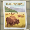 "Anderson Design Group for Riley Blake, National Parks, Yellowstone Panel (36"" Panel)"