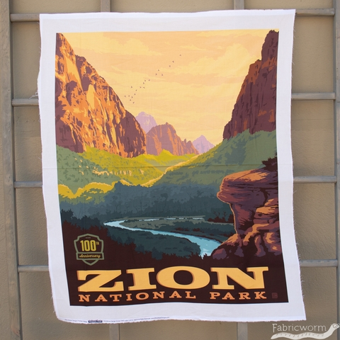 "Anderson Design Group for Riley Blake, National Parks, Zion Panel (36"" Panel)"