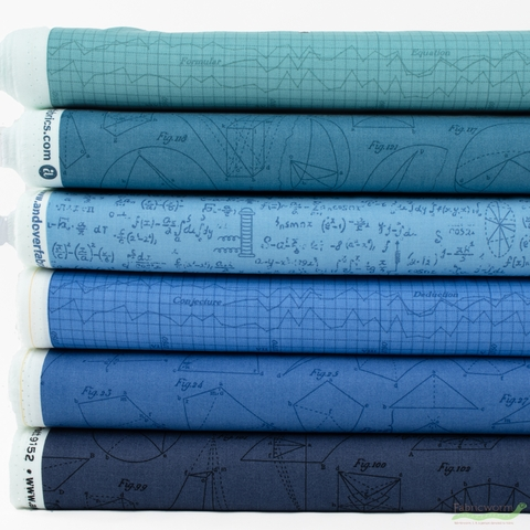 Andover, Color Theory, Deep End in HALF YARDS 6 Total
