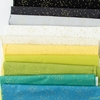 Andover Fabrics, Rainbow Shimmer, Sours Bundle 10 Total