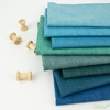 Andover, Laundry Basket Favorites Linen Texture, Dark Teal