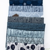Anna Graham for Robert Kaufman, Driftless, Butterfly Reeds Dusty Blue