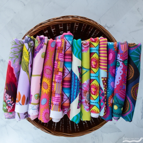Anna Maria Horner for Free Spirit, Bright Eyes, Stacked Lunch