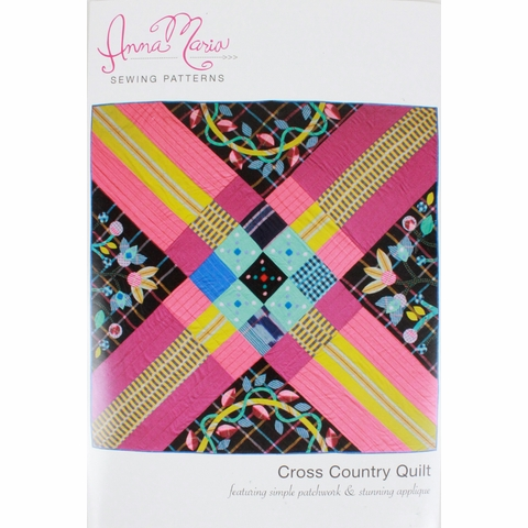 Anna Maria, Sewing Pattern, Cross Country Quilt
