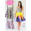 Anna Maria, Sewing Pattern, Full Circle Skirt