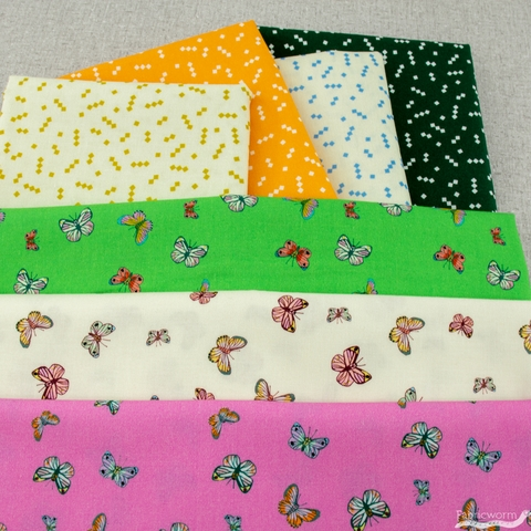 Annabel Wrigley for Windham, Posy, Butterfly Green