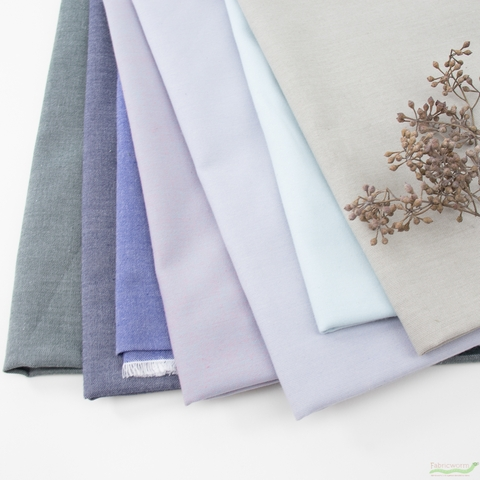 Another Point of View for Windham, Artisan Cotton, Stone-Lavender