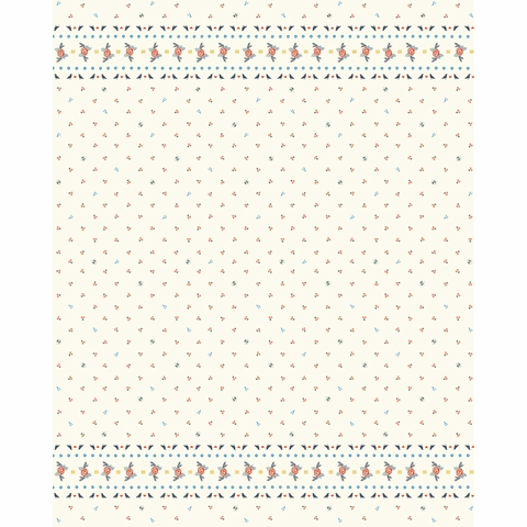 Arleen Hillyer for Birch Organic Fabrics, Merryweather, Merry Border