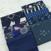 Art Gallery Fabrics, PRE-CUT Color Master, No. 10 Midnight Ocean in FAT QUARTERS 10 Total