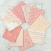 Art Gallery Fabrics, PRE-CUT Color Master, No. 17 Rose Parfait in FAT QUARTERS 10 Total