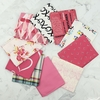 Art Gallery Fabrics, PRE-CUT Color Master, No. 18 Berry Valentine in FAT QUARTERS 10 Total