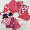 Art Gallery Fabrics, PRE-CUT Color Master, No. 19 Pomegranate Tart in FAT QUARTERS 10 Total