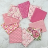 Art Gallery Fabrics, PRE-CUT Color Master, No. 2 Life Is Pink in FAT QUARTERS 10 Total