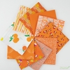 Art Gallery Fabrics, PRE-CUT Color Master, No. 20 Tangerine Summer in FAT QUARTERS 10 Total