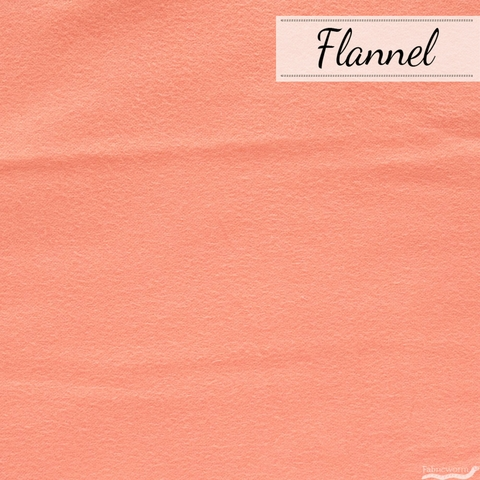 Art Gallery, Flannel, Pink Clay Solid