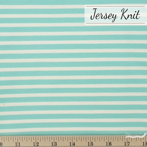 Art Gallery, Knits Striped, Striped Alike Aqua