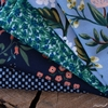 Assorted Rifle Paper Co. Custom Bundle, Blooming Blue 5 Precut Fat Quarters