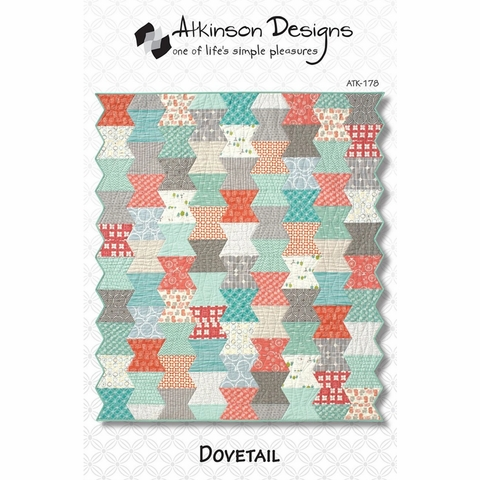 Atkinson Designs, Sewing Pattern, Dovetail Quilt