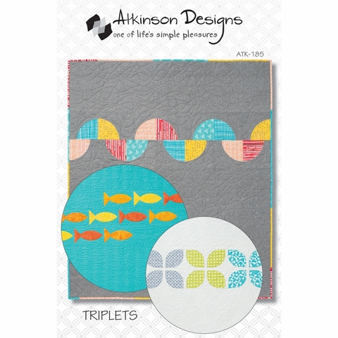 Atkinson Designs, Sewing Pattern, Triplets Quilt