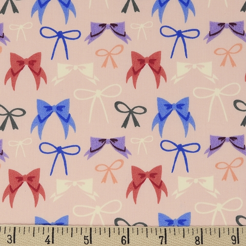 Arleen Hillyer for Birch Organic Fabrics, Pirouette, Bows