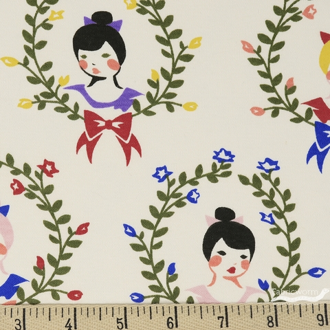 Arleen Hillyer for Birch Organic Fabrics, Pirouette, KNIT, Coppelia