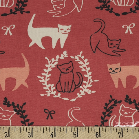 Arleen Hillyer for Birch Organic Fabrics, Pirouette, KNIT, Pas De Chat
