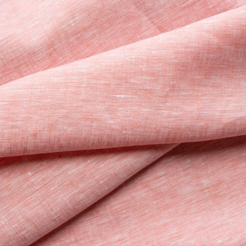 Birch Organic Fabrics, Yarn Dyed Linen, Dusty Rose
