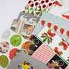 AVAILABLE FOR PREORDER, Charley Harper for Birch Organic Fabrics, Charley Harper Holiday in FAT QUARTERS 10 Total