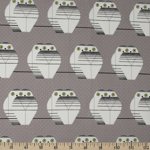 AVAILABLE FOR PREORDER, Charley Harper for Birch Organic Fabrics, Charley Harper Holiday, Twowls