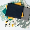 Jay-Cyn Designs for Birch Organic Fabrics, Tonoshi Boy Precut Fat Quarters 9 Total