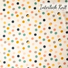 Jay-Cyn Designs for Birch Organic Fabrics, Tonoshi Knit, Mochi Dot Girl Metallic Gold