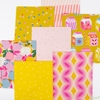 Melody Miller for Ruby Star Society, Clementine, Fruity Stripes Sunshine
