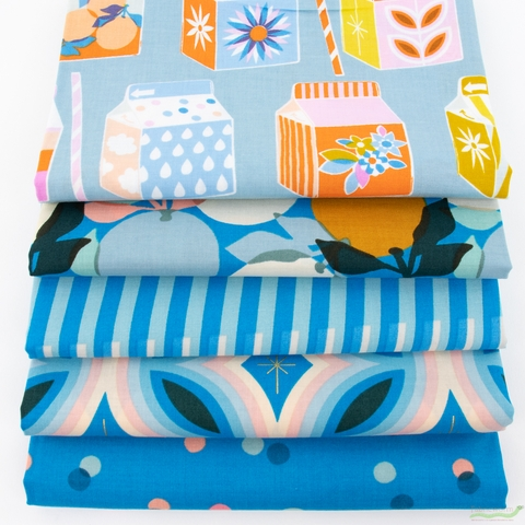 Melody Miller for Ruby Star Society, Clementine, Juicy Soft Blue