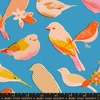 AVAILABLE FOR PREORDER, Melody Miller for Ruby Star Society, Social, Chirp Bright Blue