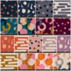 PREORDER NOW, Ruby Star Society, Cotton Linen Canvas, PRE-CUT Entire Collection in FAT QUARTERS 17 Total