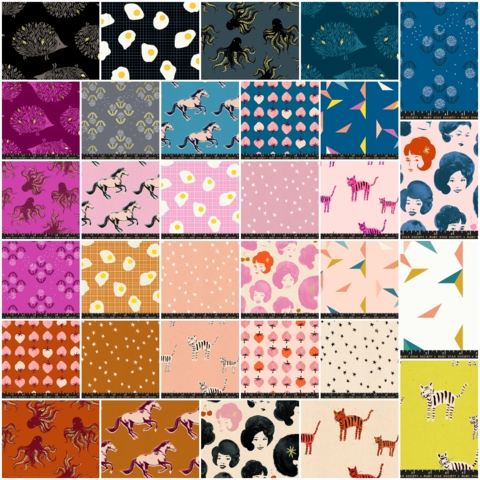 Ruby Star Society, Darlings, PRE-CUT Entire Collection in FAT QUARTERS 32 Total