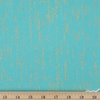 Sarah Watts for Ruby Star Society, Tiger Fly, Brushed Metallic Turquoise