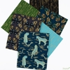 Sarah Watts for Ruby Star Society, Tiger Fly, Dark Teal in FAT QUARTERS 6 Total