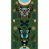 "Sarah Watts for Ruby Star Society, Tiger Fly, Mother Metallic Sarah Green (24"" Panel)"