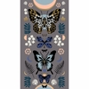 "Sarah Watts for Ruby Star Society, Tiger Fly, Mother Metallic Slate Grey (24"" Panel)"