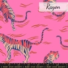 PREORDER NOW, Sarah Watts for Ruby Star Society, Tiger Fly Rayon, Tigress Pink