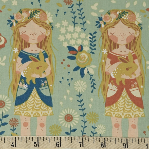 Teagan White for Birch Organic Fabrics, Best of Teagan White, Penny's Garden