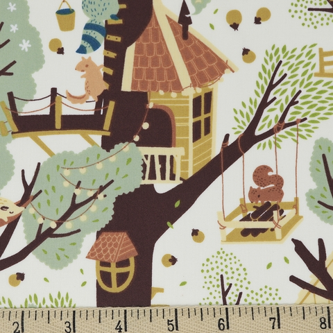 Teagan White for Birch Organic Fabrics, Best of Teagan White, Tree Fort